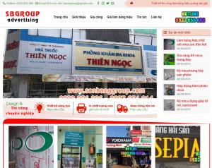site thi công quảng cáo