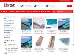 site kinh doanh tấm poly