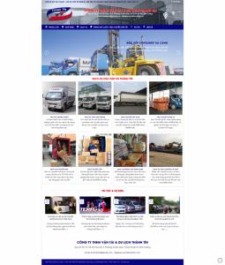 website công ty vận tải